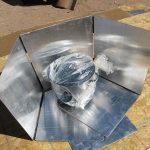 first solar cooker