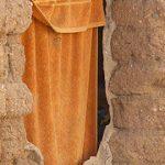 towel on hole