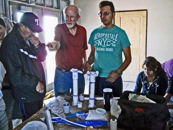 water filtration workshop