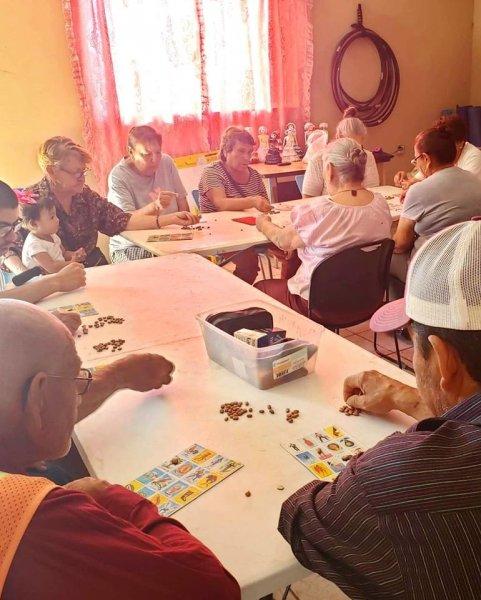 Senior community program.