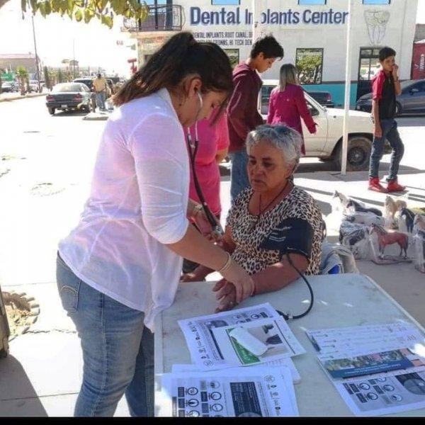 Community health screening.