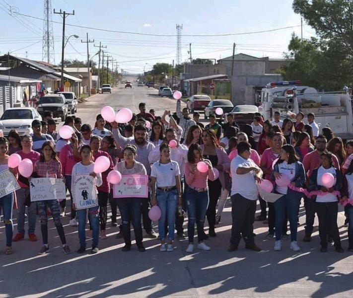 Community health awareness parade.