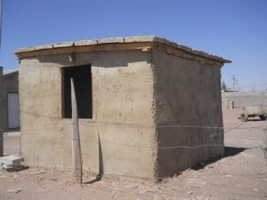 first papercrete building in Palomas