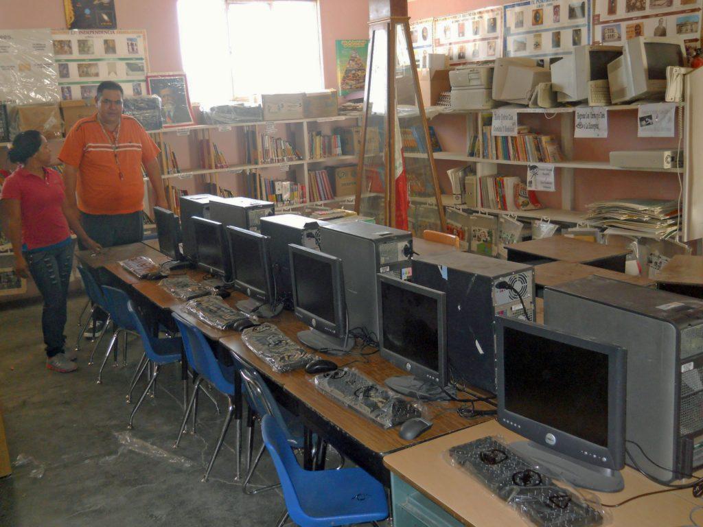 new computer center