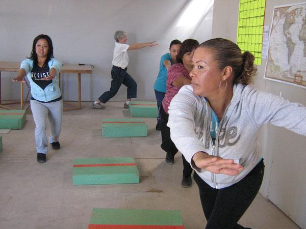 aerobics class
