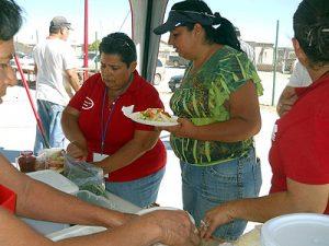 serving healthy burritos