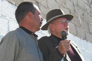 Juan Rascon (l) & Peter Edmunds (r)