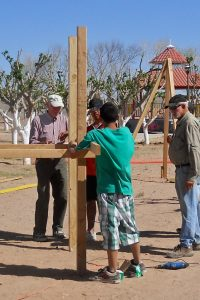 playground equipment construction