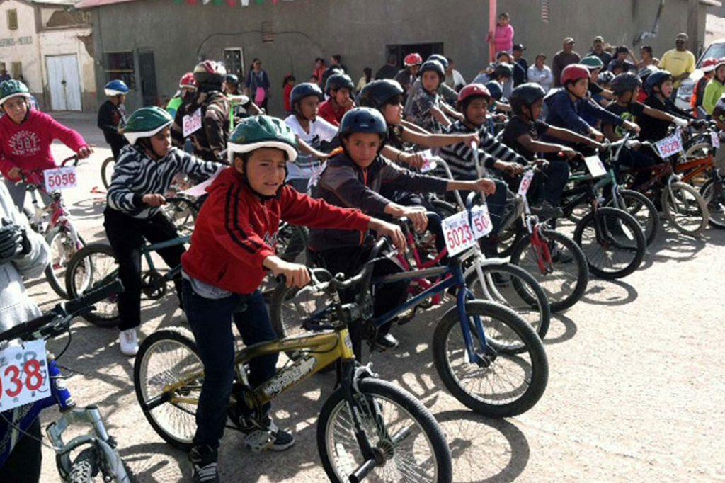 children's bike race