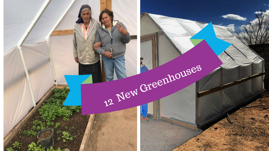 12 New Greenhouses