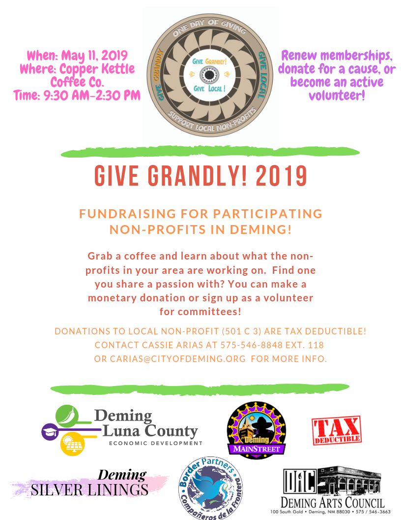 Give Grandly 2019 Deming